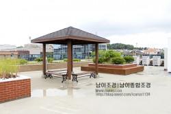 용인 영덕동 신축건물 옥상 정자